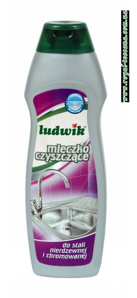 Чистящее молочко для нержавеющей и хромированной стали Ludwik Mleczko Czyszczace
