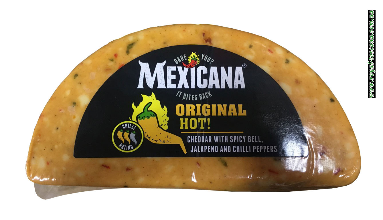 Сыр Чеддер Mexicana Original Hot