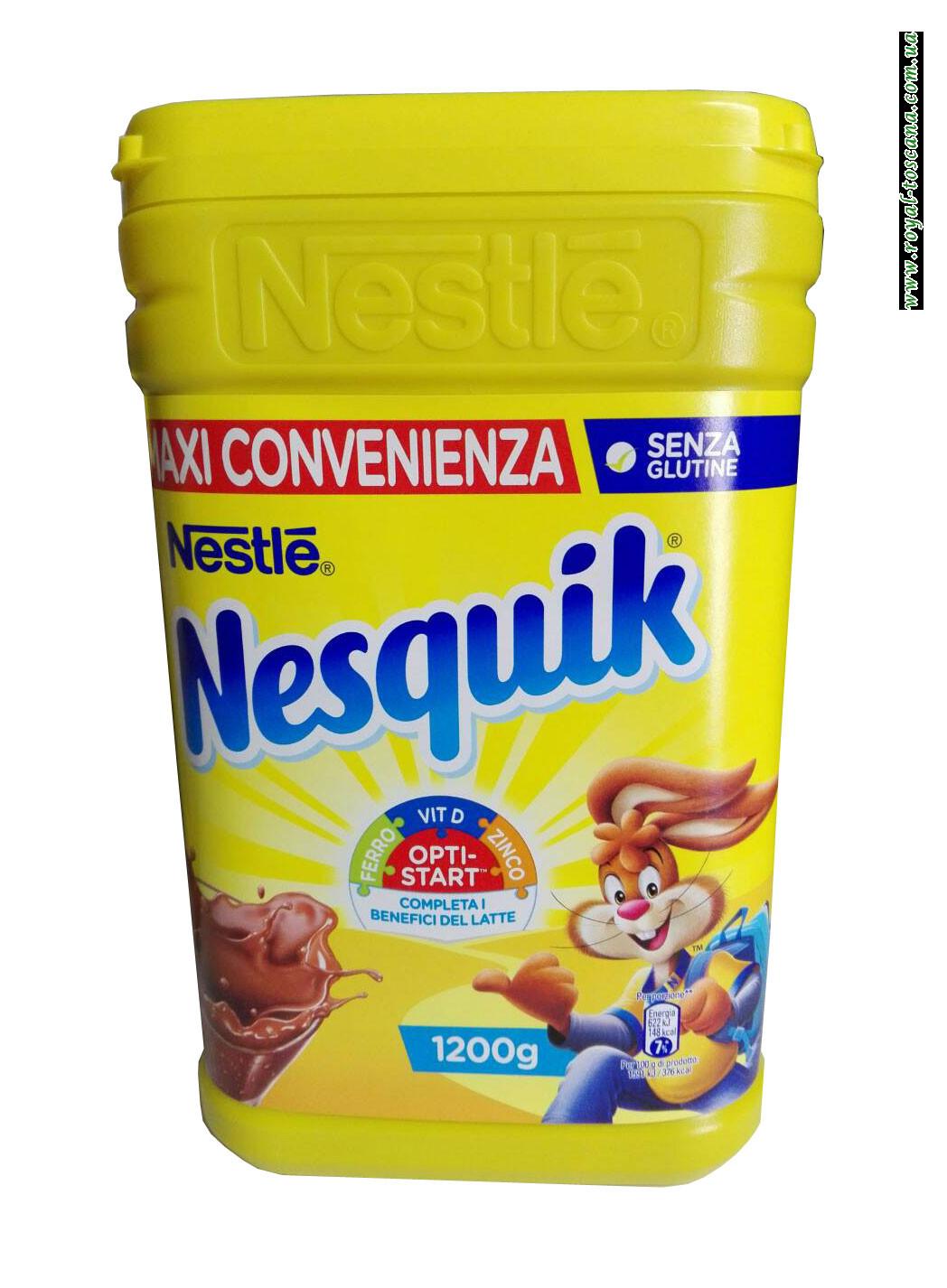 Какао напиток Nestle Nesquik Orti-Start