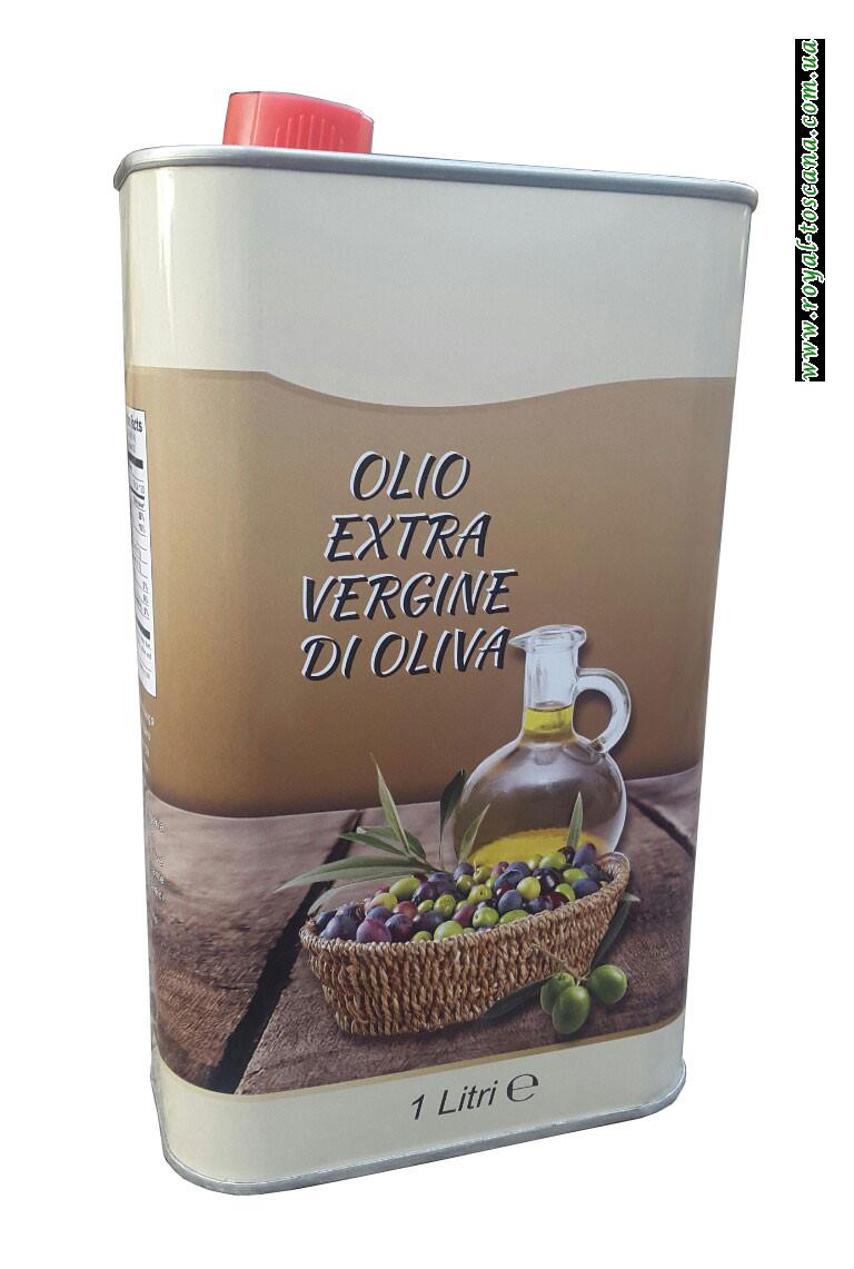 Оливковое масло Olio Extra Vergine di Oliva, канистра 1л