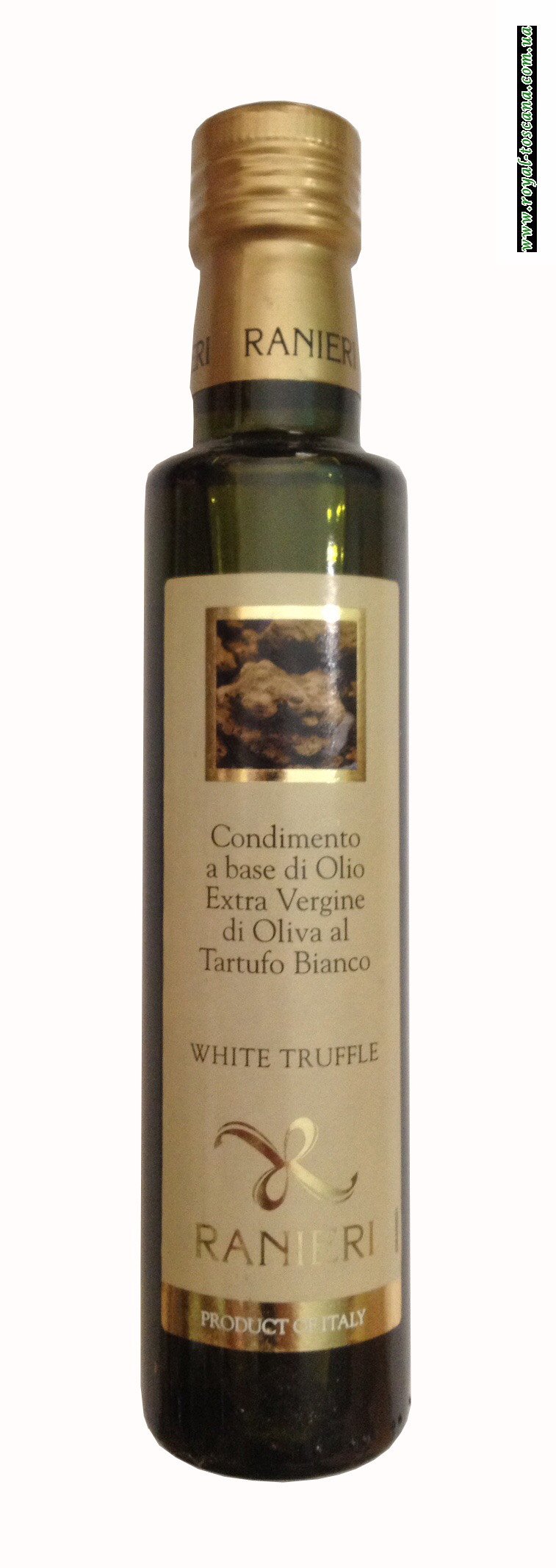 Оливковое масло с ароматом белого трюфеля Ranieri Condimento a Base di Olio Extra Vergine di Oliva al Tartufo Bianco