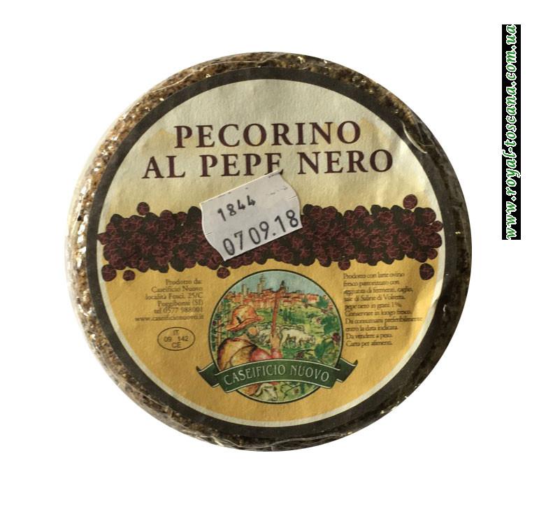 Сыр Caseificio Nuovo Pecorino al Pepe Nero