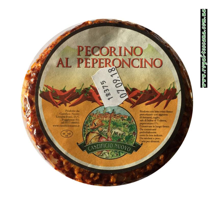 Сыр Caseificio Nuovo Pecorino al Peperoncino