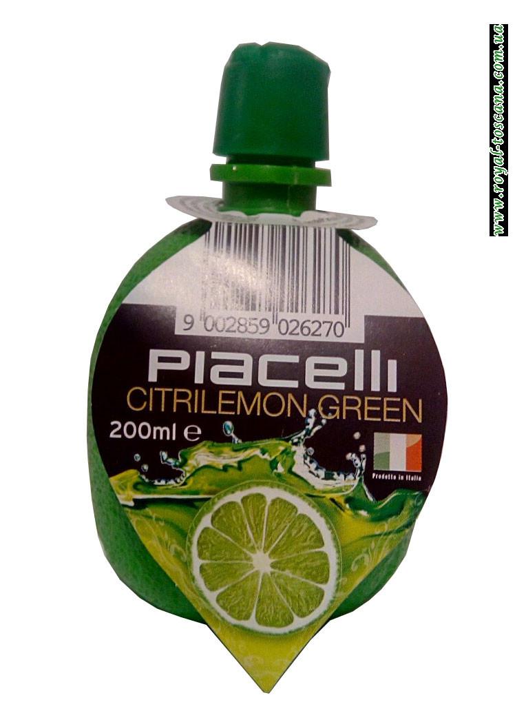 Сок лайма Piacelli Citrilemon Green