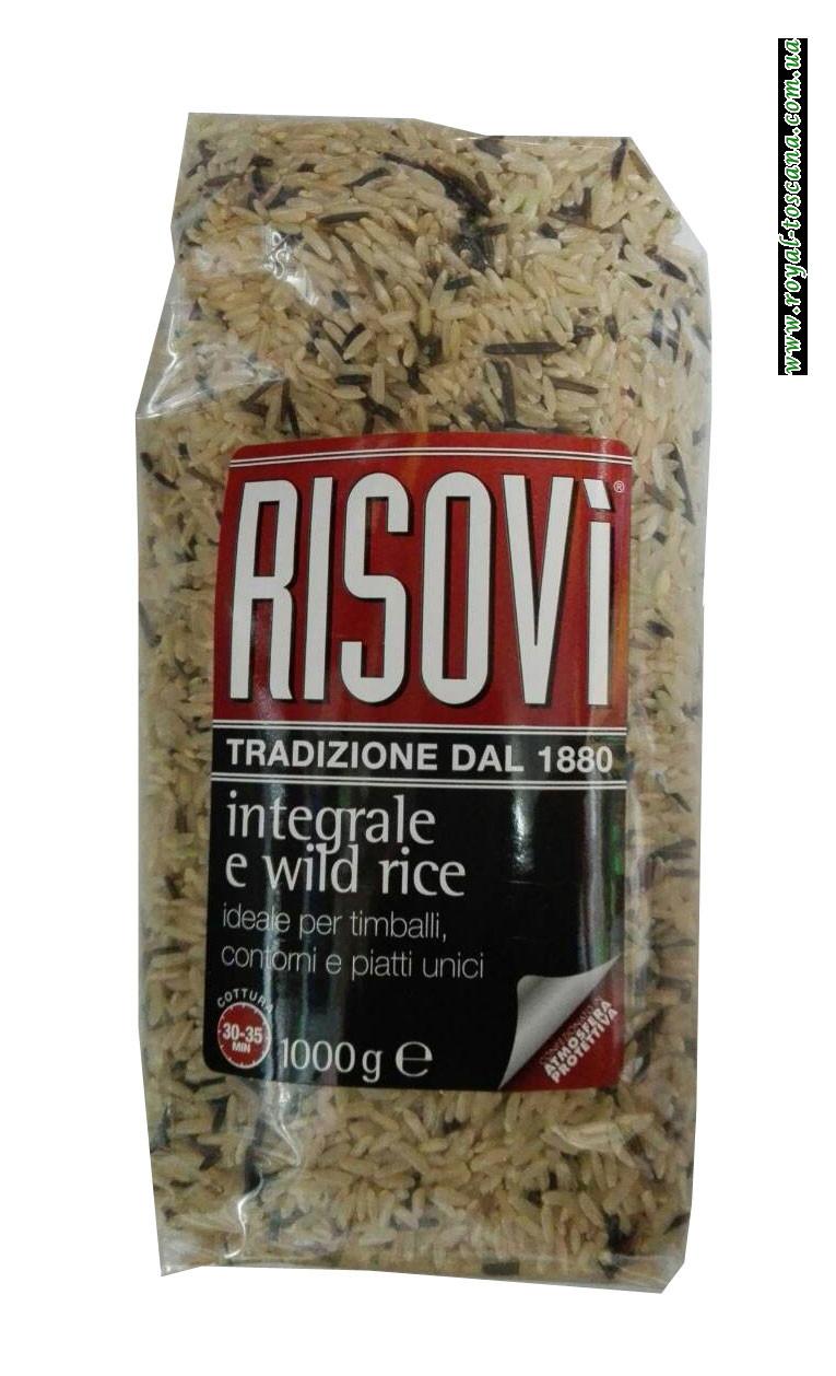 Микс белого и дикого риса Risovi Integrale e Wild Rice