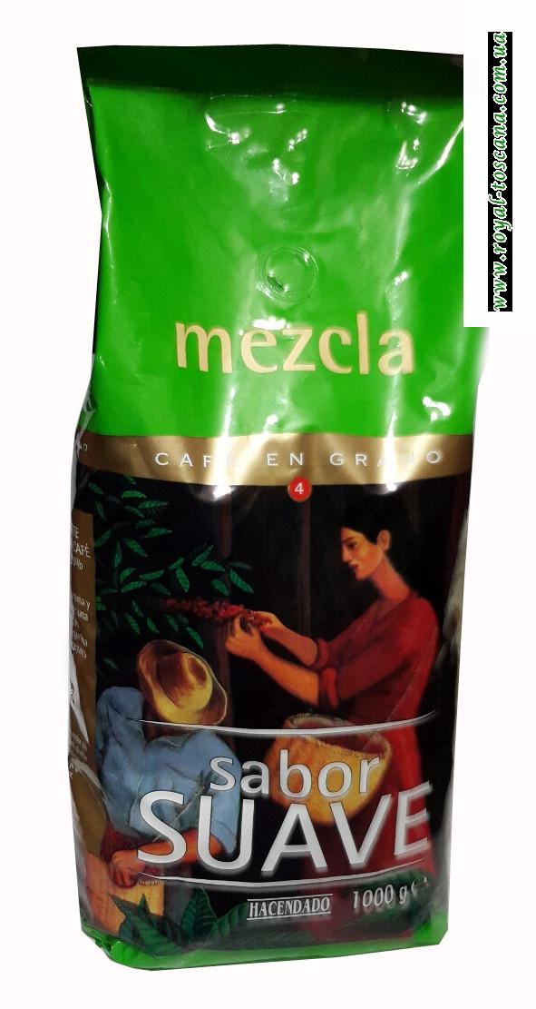 Кофе в зернах Hacendado Mezcla Sabor Suave