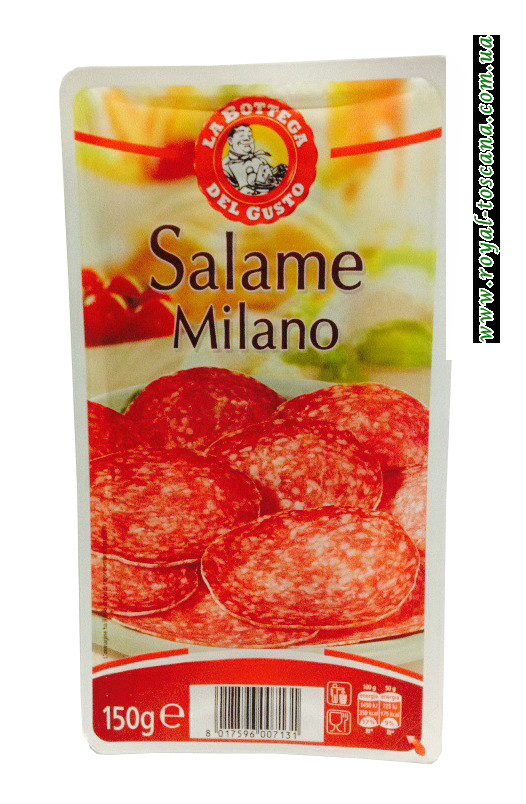 Нарезка салями Милано La Bottega del Gusto Salame Milano