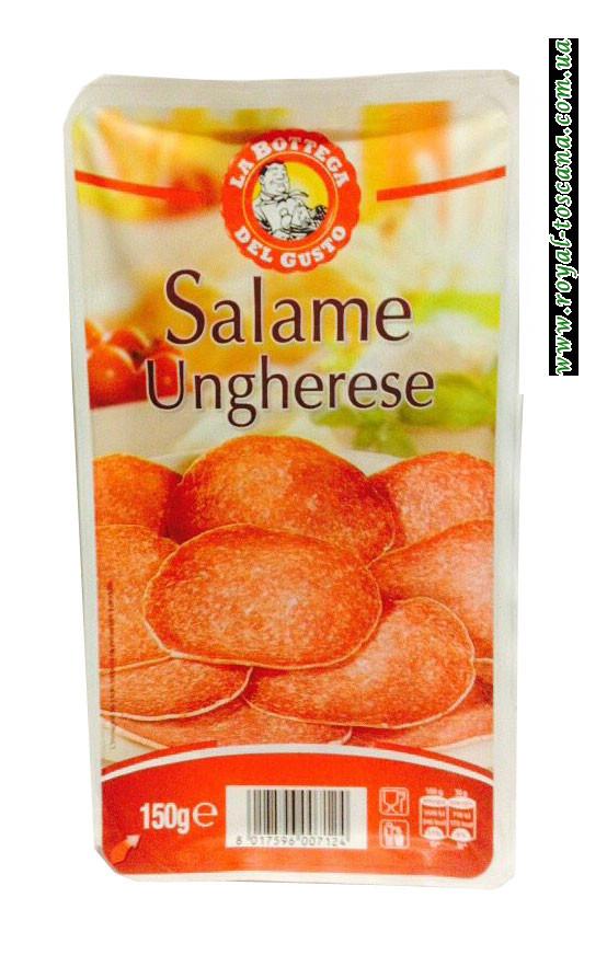 Нарезка венгерской салями Salame Ungherese