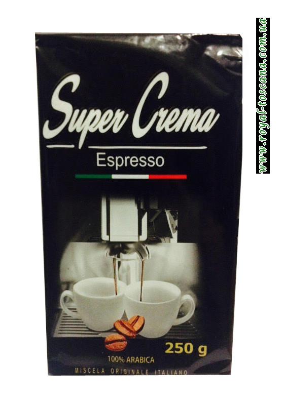 Молотый кофе Super Crema Espresso