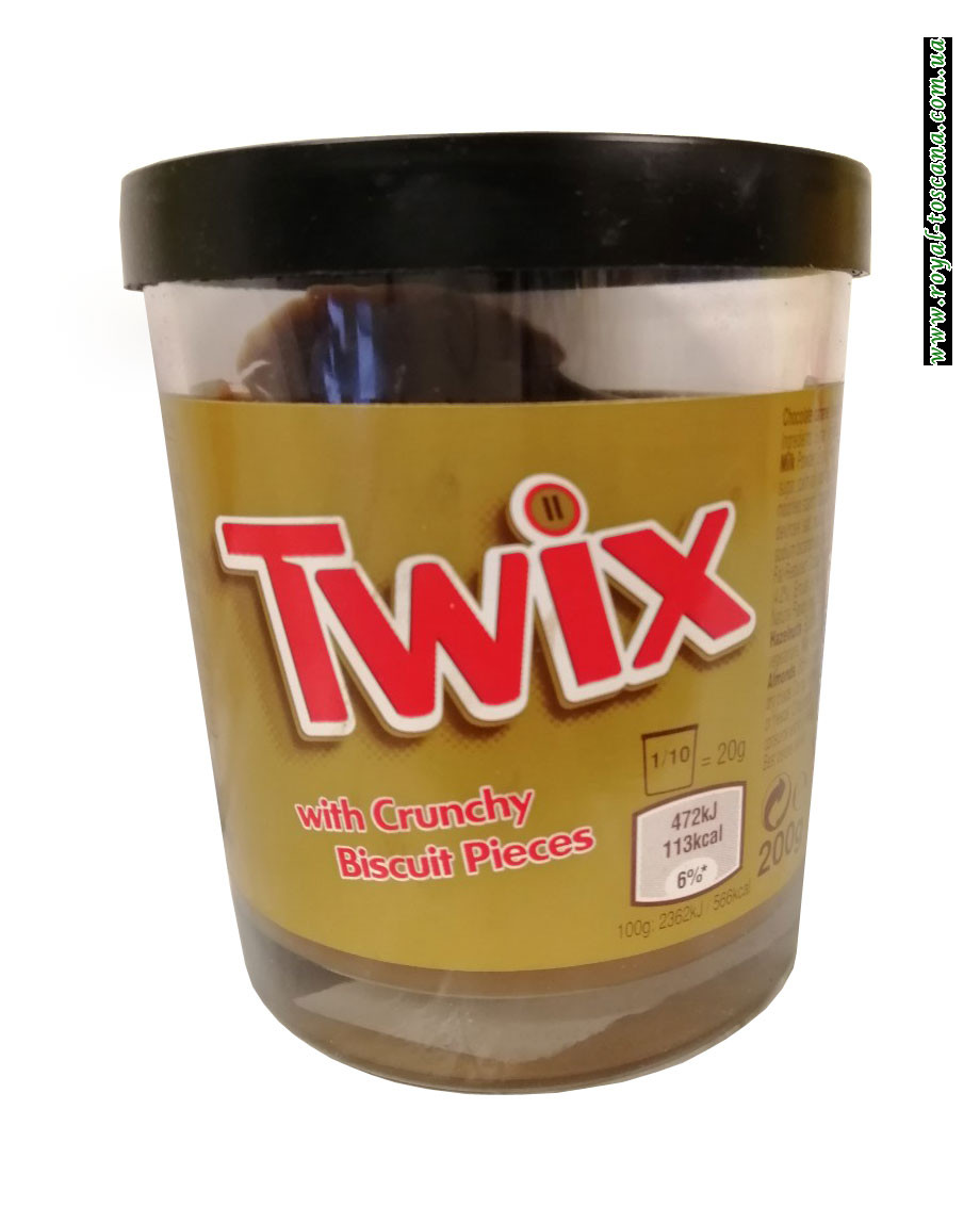 Шоколадный крем Twix With Crunchy Biscuit Pieces