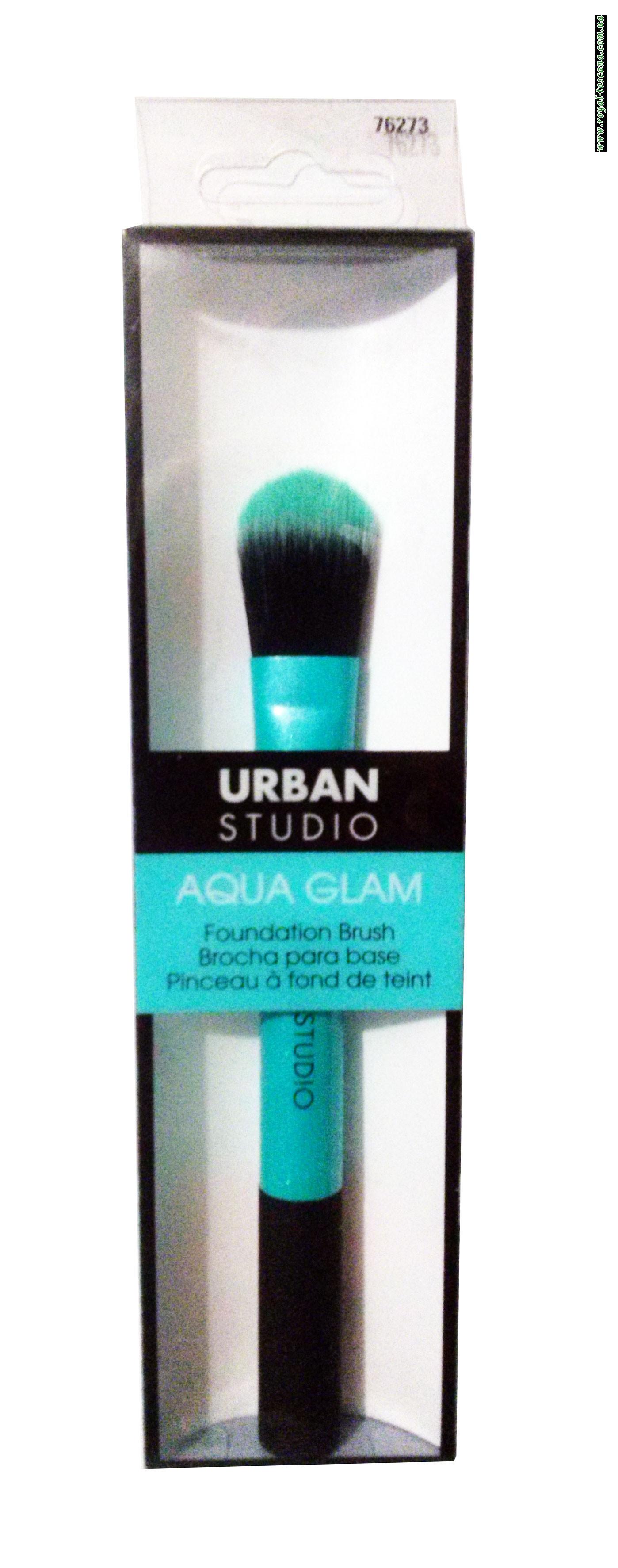 Кисть для тональной основы Urban Studio Aqua Glam Foundation Brush
