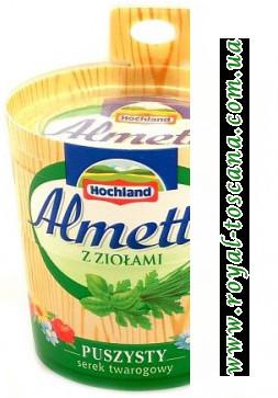 Сыр Almette z Ziolami