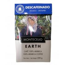 Кофе молотый без кофеина Montecelio Descafeinado, 250 г