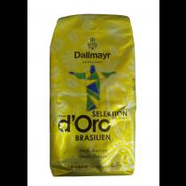 Кофе DALLMAYR Crema d'Oro Selektion Brasilien в зернах, 1 кг
