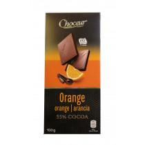 Шоколад черный с апельсином Choceur Orange