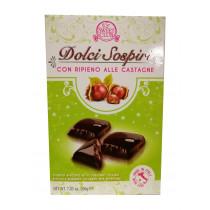 Шоколадное пирожное Dolci Sospiri con Ripieno alle Castagne