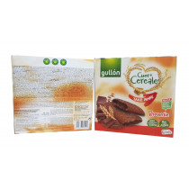 Печенье Gullon Cuor di Cereale Brownie 202,5г (не меньше 14 шт)