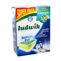 Таблетки для посудомоечных машин Ludwik Classic Profit Pack, 100 шт