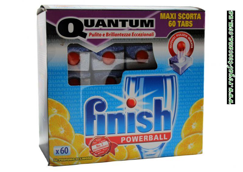"""Таблетки для посудомоечной машины-все в одном """"Finish Quantum"""""""