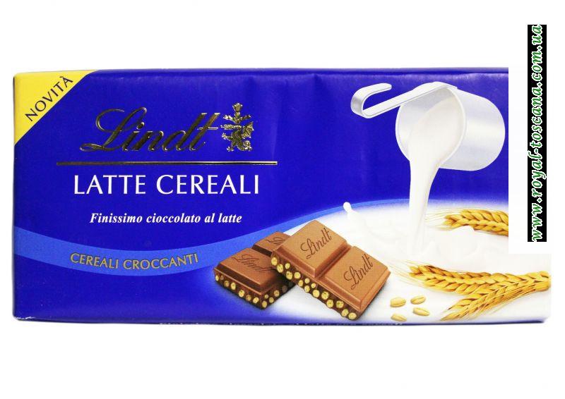 Шоколад Lindt Latte cereali