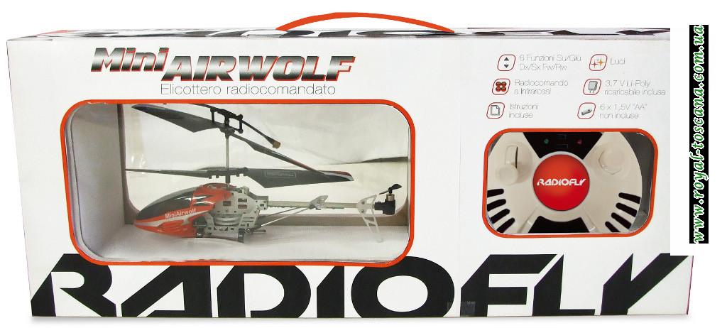 Вертолет на радиоуправлении Radiofly Mini Airwolf