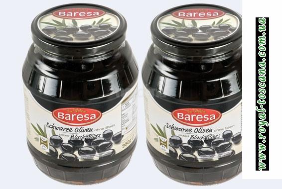 """Маслины чёрные с/б """"Baresa"""""""