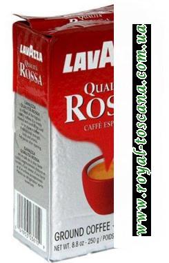 Кофе Lavazza Qualita Rossa арабика 70%