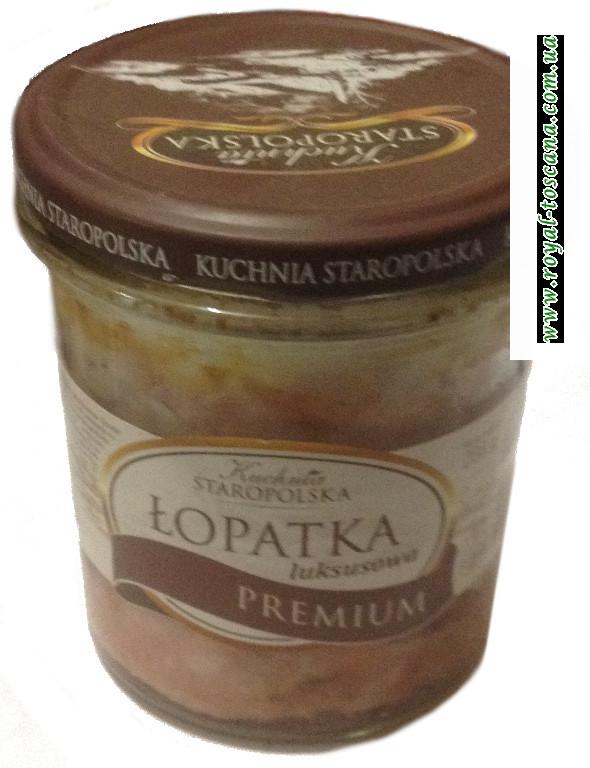 Лопатка в соусе Staropolska Kuchnia