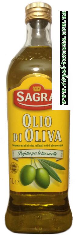 Рафинированное оливковое масло Sagra