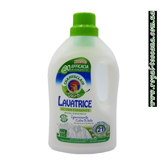 Гель для стирки белых вещей ChanteClair Lavatrice Ecodetergente, 21 стирки, 1071 мл