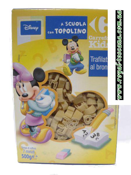 "Детские макароны A Scuola con Topolino ""Disney"""