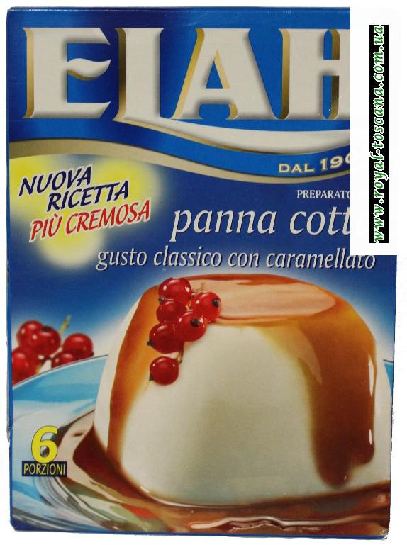 Пудиг с карамелью Elah panna cotta