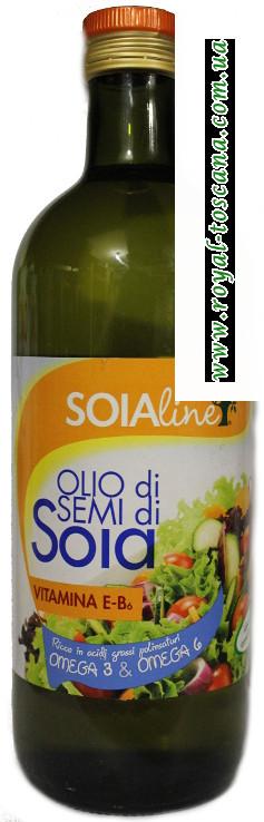 Соевое масло Soialine