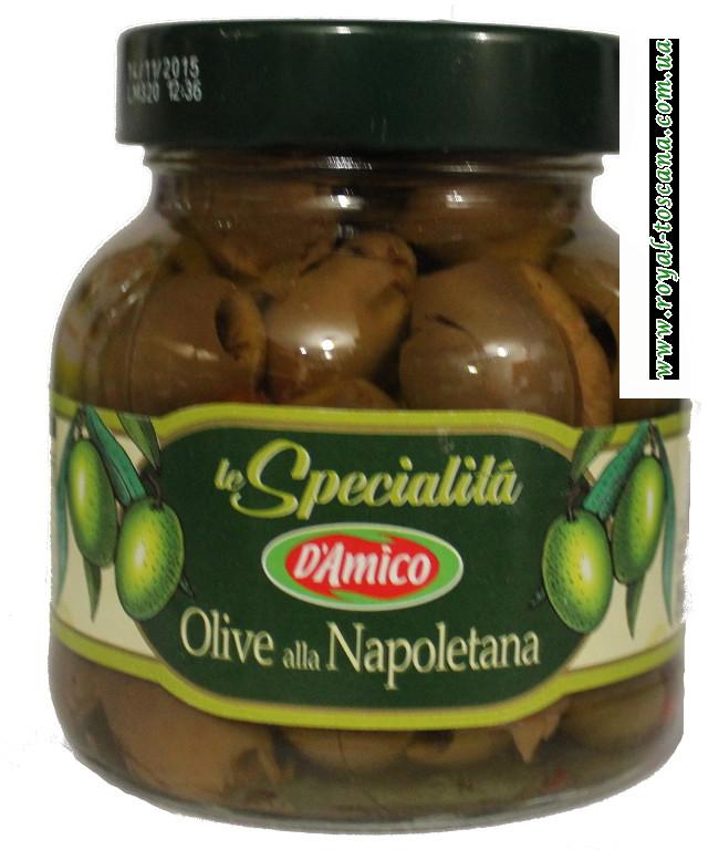 "Зеленые оливки ""Damico"", без косточки"