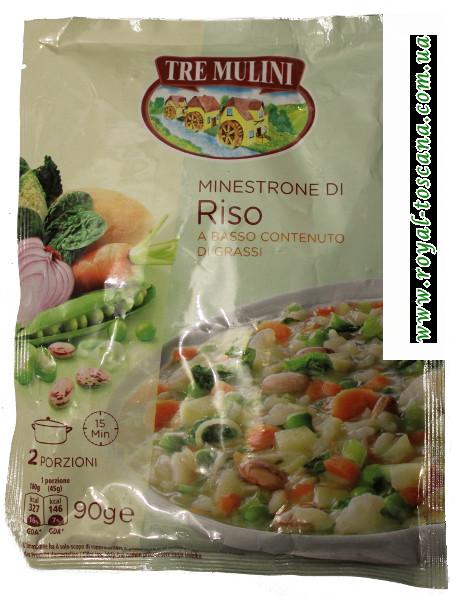 Рисовый суп Tre Mulini