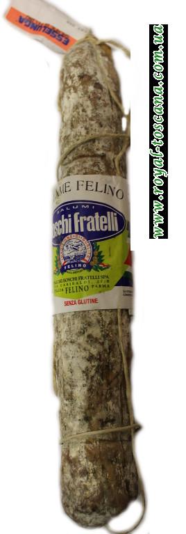 """Салями вяленное """"Esselunga""""  Boschi Fratelli salame di felino"""