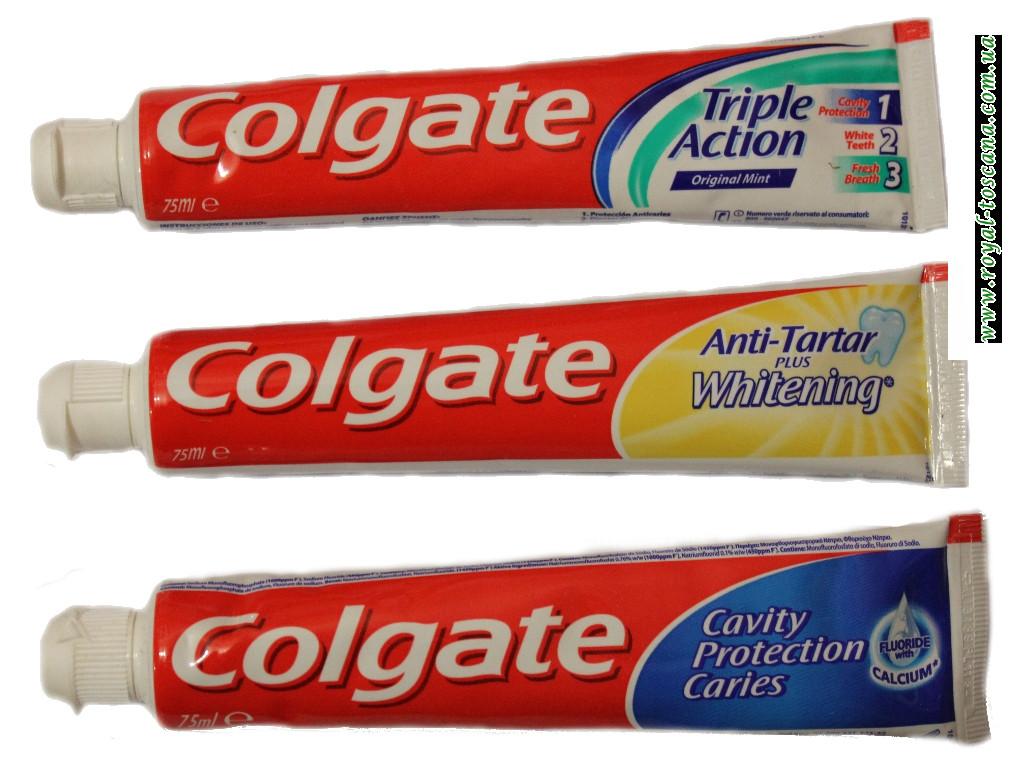 Зубная паста Colgate в ассортименте