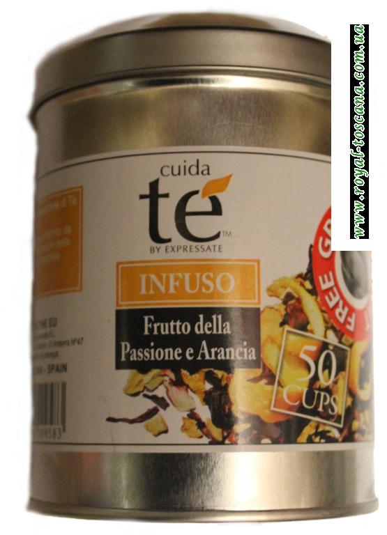 Фруктовый чай Cuida Te Infuso frutto della Passione e Arancia