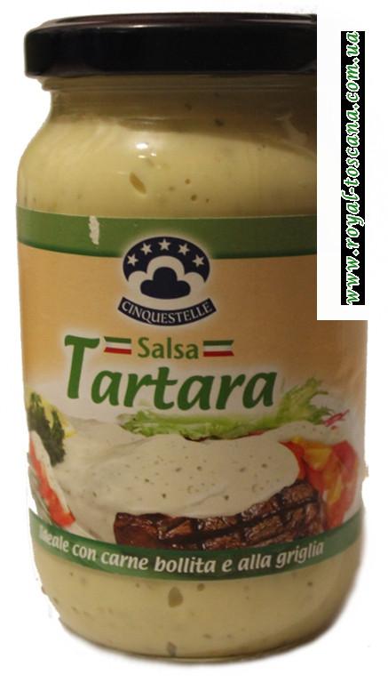 """Соус """"Cinquestelle"""" Tartara"""