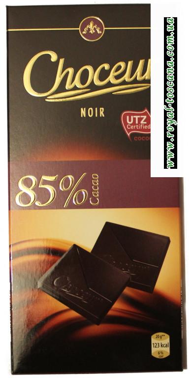 Шоколад Choceur Noir в ассортименте