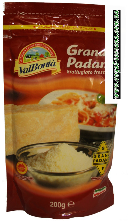 Сыр Grana Padano тертый