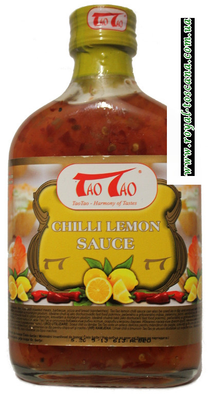 Соус Tao Tao Chili Lemon Sauce