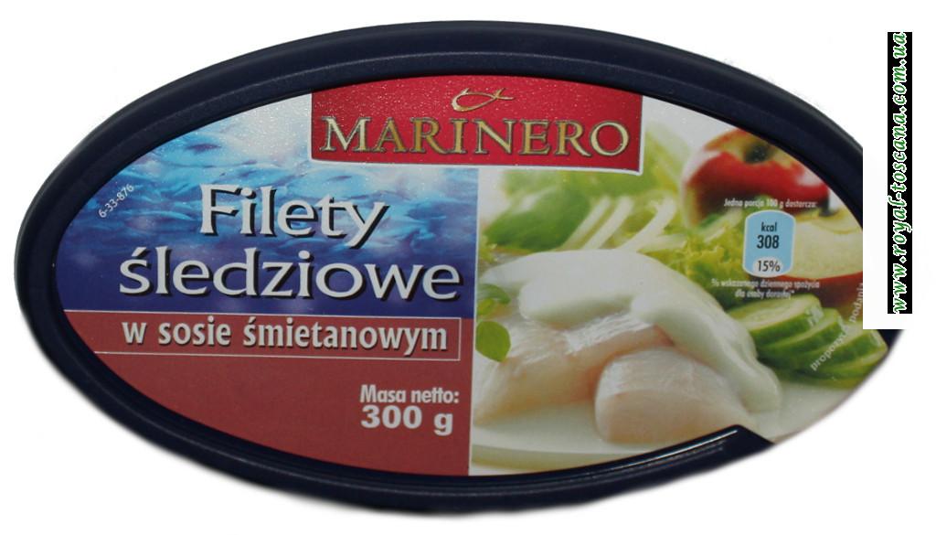 Сельдь в сметанном соусе Marinero