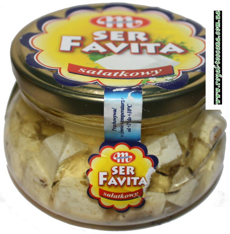 Сыр фета в масле с травами Ser Favita Salatkowy