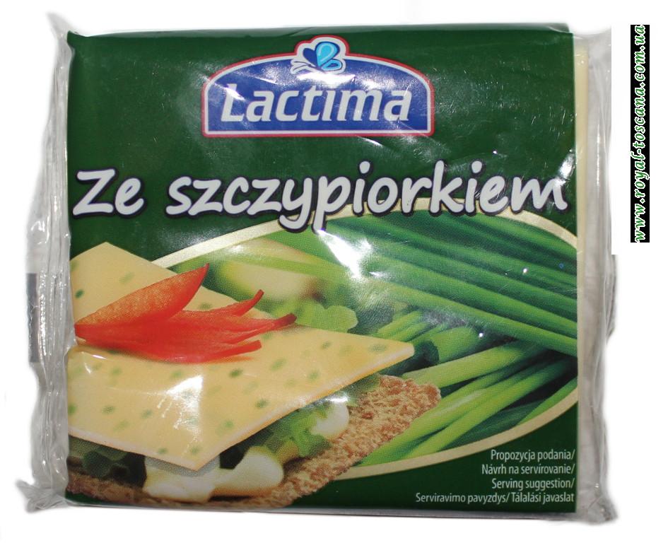 Сыр Lactima ze Szczypiorkiem