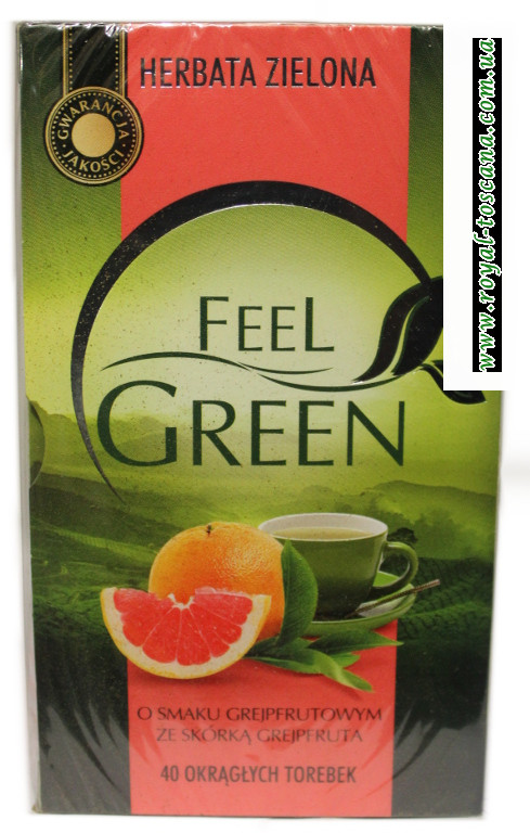 Чай Feel Green o grejpfrutowym