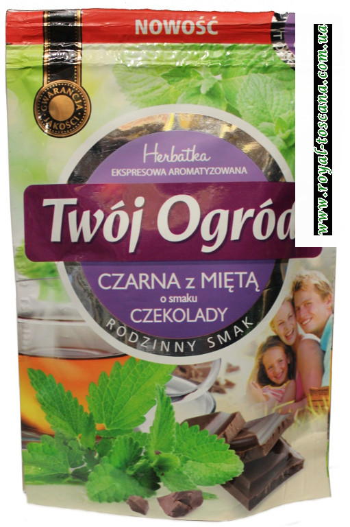 Чай Twój ogród с мятой и шоколадом