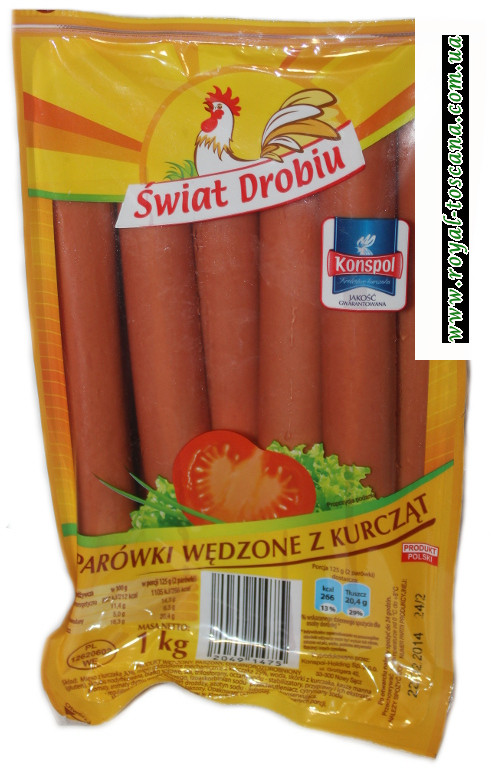 Куриные сосиски Swiat Drobiu