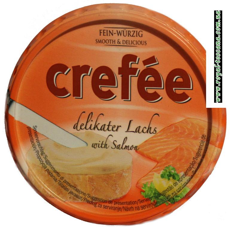 Сыр Crefee с лососем