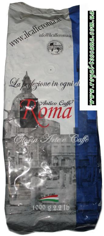 Кофе в зернах Antico caffe roma